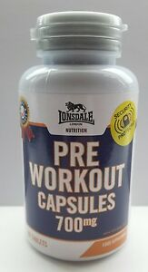 Pre workout tablets  Capsules  700 mg X 60  Lonsdale Big Sale - <span itemprop=availableAtOrFrom>Blackpool, United Kingdom</span> - Pre workout tablets  Capsules  700 mg X 60  Lonsdale Big Sale - Blackpool, United Kingdom