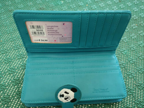 BB Klostermann Porte-monnaie Portefeuille langbörse Shag Wear Panda 50193
