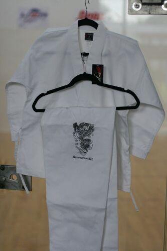 "WINNERS ZONE Swift KARATE Martial Art Uniform Gi WHITE Jacket Pants  SIZE 6 6/'4/"""