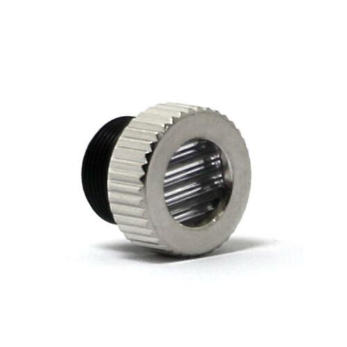 5pcs 60 ° Linienlaserlinsen 200nm-1100nm mit Linsenrahmen M9 und Metallkappe