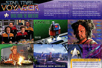 Star Trek Voyager Season 1 - Series 2 1995 Skybox 9-card Uncut Promo Sheet
