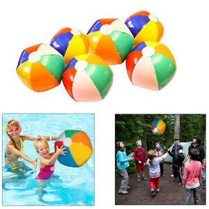 Mother & Kids Accessories Generous Summer Toys Kids Colorful Rainbow Inflatable Ball Toy Swimming Pool Beach Game Balls Water Balloons Toys For Kids