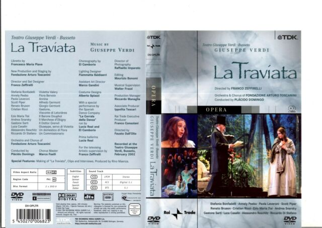 Verdi, Giuseppe - La Traviata (Doppel-DVD) DVD 9691