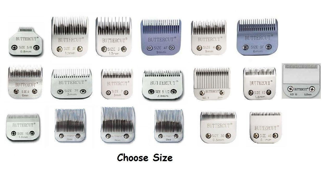 Geib Stainless Steel Buttercut Grooming Blades High Quality Durable Ultra Sharp