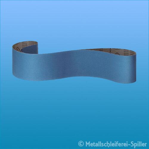 Edelstahl Klingspor Stahl 5x Schleifband CS 411 X 100x2000 mm Korn 36
