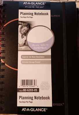 "Remember. Plan Write AT-A-GLANCE 2021 8.56/"" x 11/"" Planner Black"