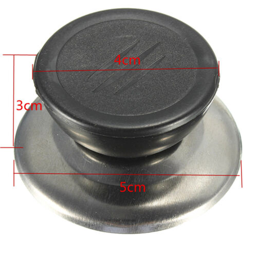 Universal Kitchen Replacement Cookware Pot Pan Lid Hand Grip Cover Knob HandleWD