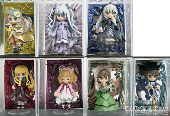 Toranoana  Rozen Maiden Traumend Palm Character  Figure set of 7 pcs