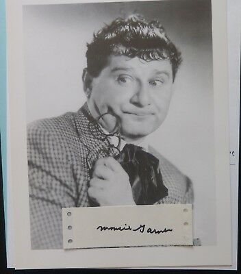 Cards & Papers Responsible Paul Mousie Garner Signed 1.5x5 Address Label '00s Comes With A Repro Entertainment Memorabilia