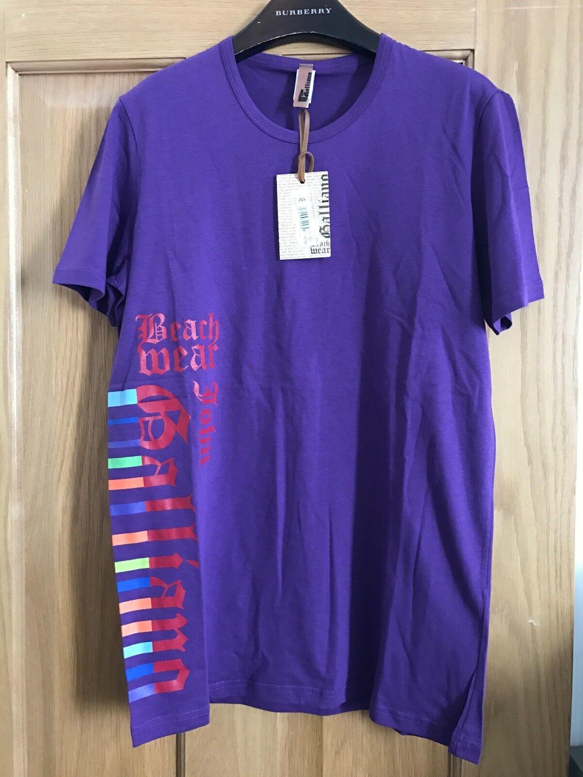 BNWT Uomo John Galliano T-Shirt Taglia M Prezzo Consigliato€ TANTO 68 & TANTO Consigliato€ ALTRO 100% AUTENTICO 35ce01