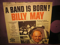 LP Billy May: A Band Is Born - Niederlande Capitol 5C 038-85417 (T 349)
