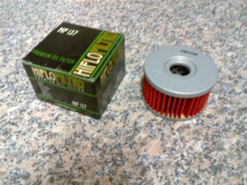 Oil Filter HiFlo HF137 for Suzuki DR800 SK,SL,SUL SR43A//B 88-90