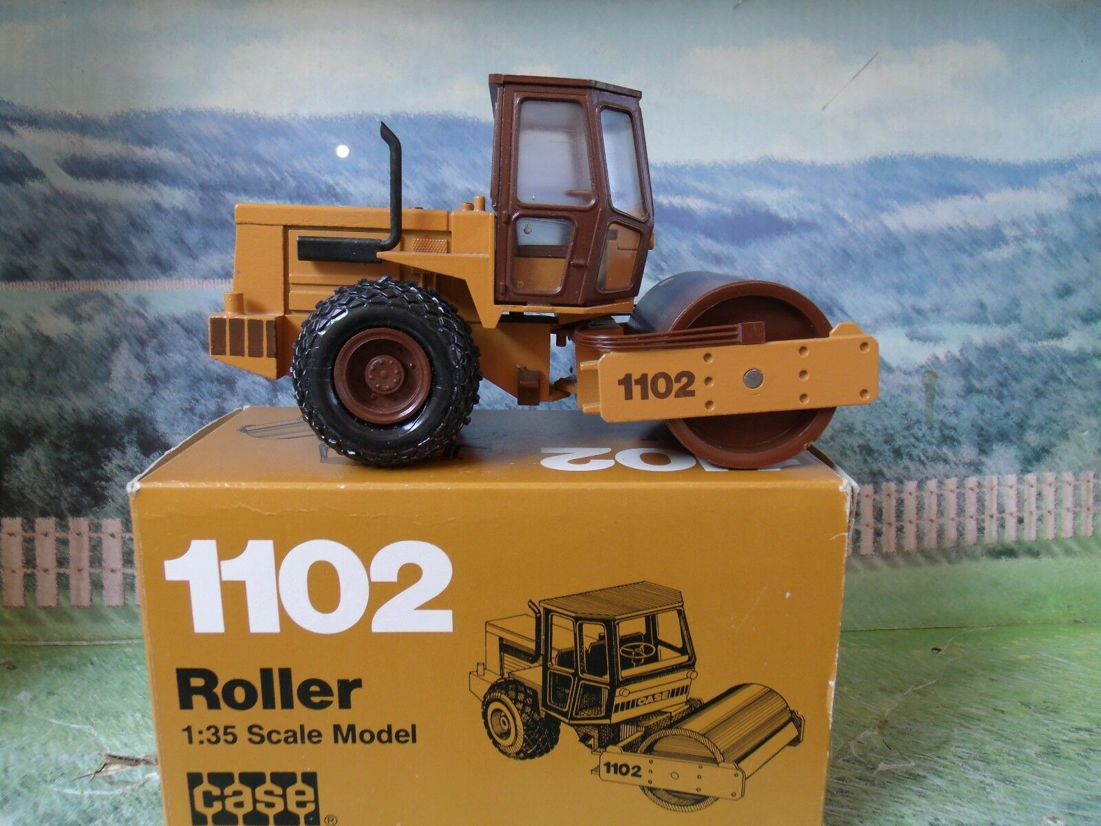1/35 Conrad (Alemania) caso W1102 Road Roller