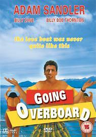 1 of 1 - Going Overboard [1989] [DVD], Excellent DVD, Adam Sandler, Billy Zane, Billy Bob