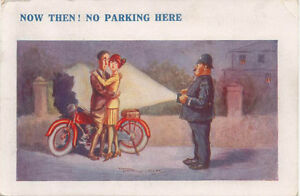 Comic-Motorcycling-No-Parking-Here-Reg-Maurice