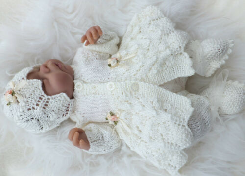INSTRUCTIONS KNITTING PATTERN TO MAKE BLESSINGS SETS FOR SMALL//PREEMIE BABIES