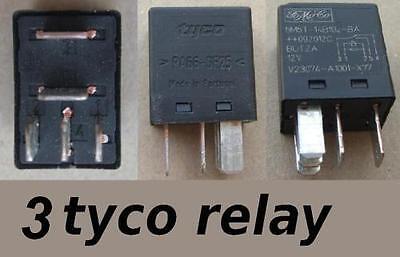 5pcs ORIGINAL Tyco Relay PA66-GF25 12VDC coil SPDT 30//20A V23074-A1001-A403 bx99