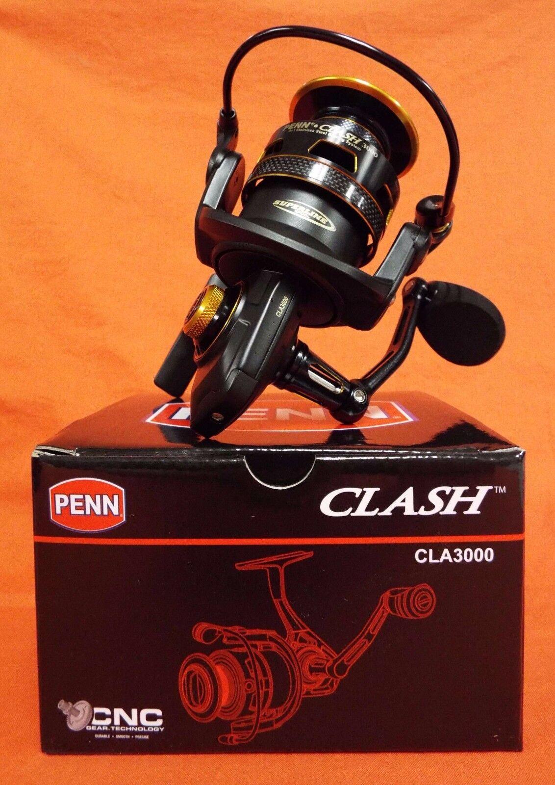 PENN Clash 3000 Spinning Reel Gear Ratio 6.2 1 (CLA3000)