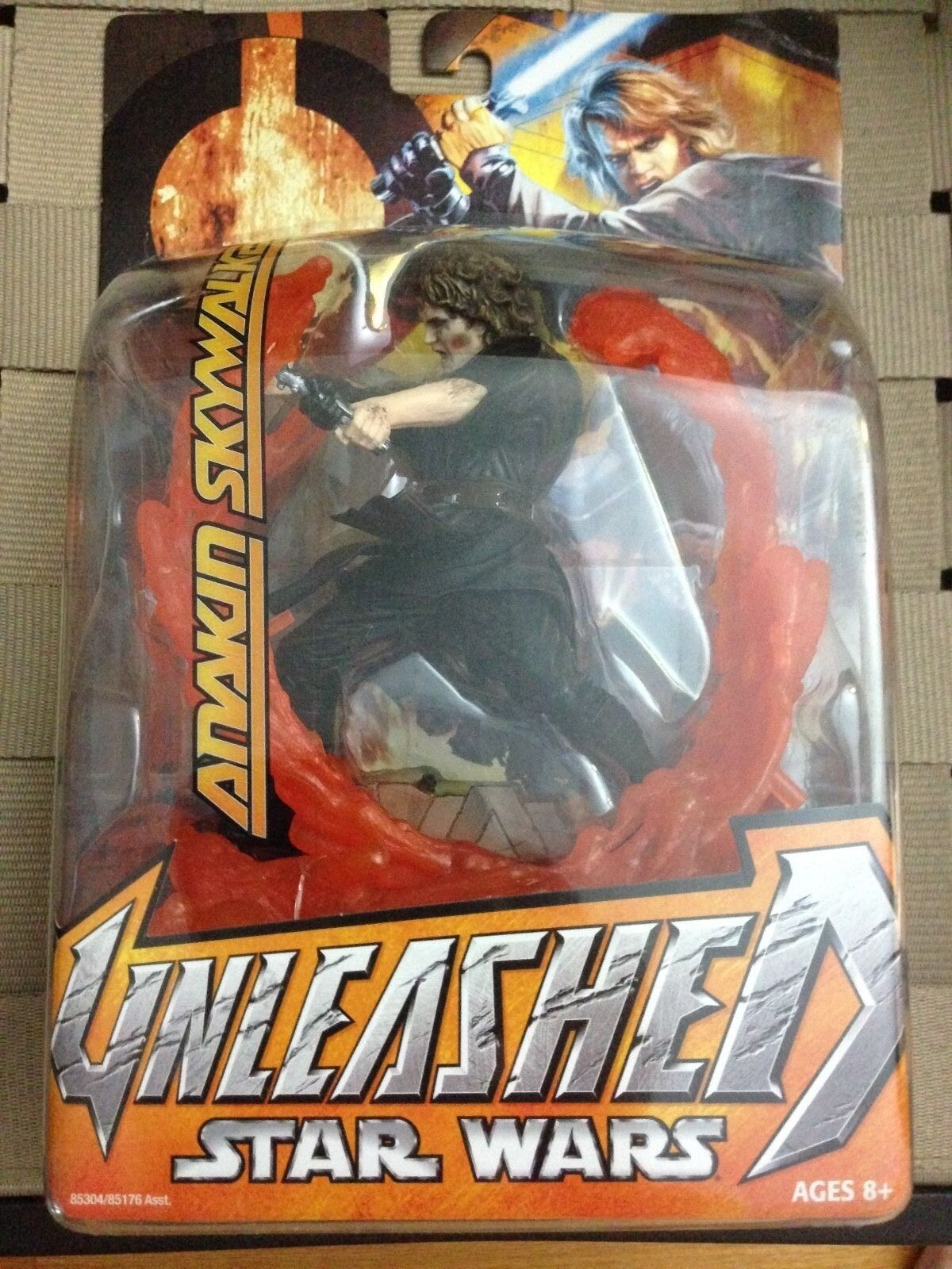 Anakin Anakin Anakin Skywalker Star Wars Unleashed SEALED MOC action figure 372eb1