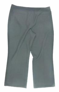 Womens-Mia-Moda-Black-Trousers-Size-16-L26