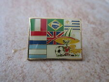 1986 MEXICO FIFA WORLD CUP PIQUE THE MASCOTTE SOCCER FOOTBALL PIN W PRIOR WINNER