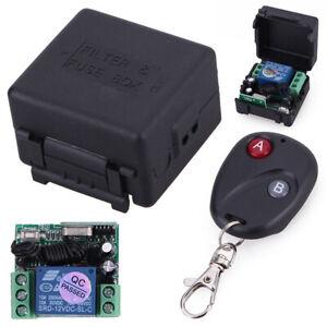 1x-RF-Remote-Control-Key-Garage-Gate-Door-Transmitter-Wireless-433MHz-Receiver