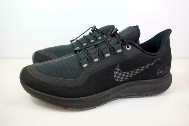 pretty nice 8046b d1aff Nike Air Zoom Pegasus 35 Shield Running Shoe Black AA1643 002 Mens Sizes NEW
