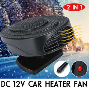 300w Car Portable Ceramic Heating Cooling Heater Fan Defroster Demister Dc 12v Air Intake & Fuel Delivery