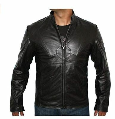 Classyak Mens Fashion Bomber Grey Suede Leather Jacket