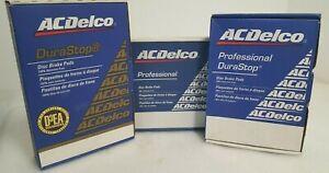 ACDelco 17D1084MH Professional Semi-Metallic Front Disc Brake Pad Set