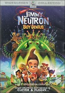 JIMMY-NEUTRON-BOY-GENIUS-Animation-ACTION-Adventure-Film-DVD-NEW-SEALED-Reg-4