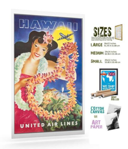 Travel Poster Hawaii 1