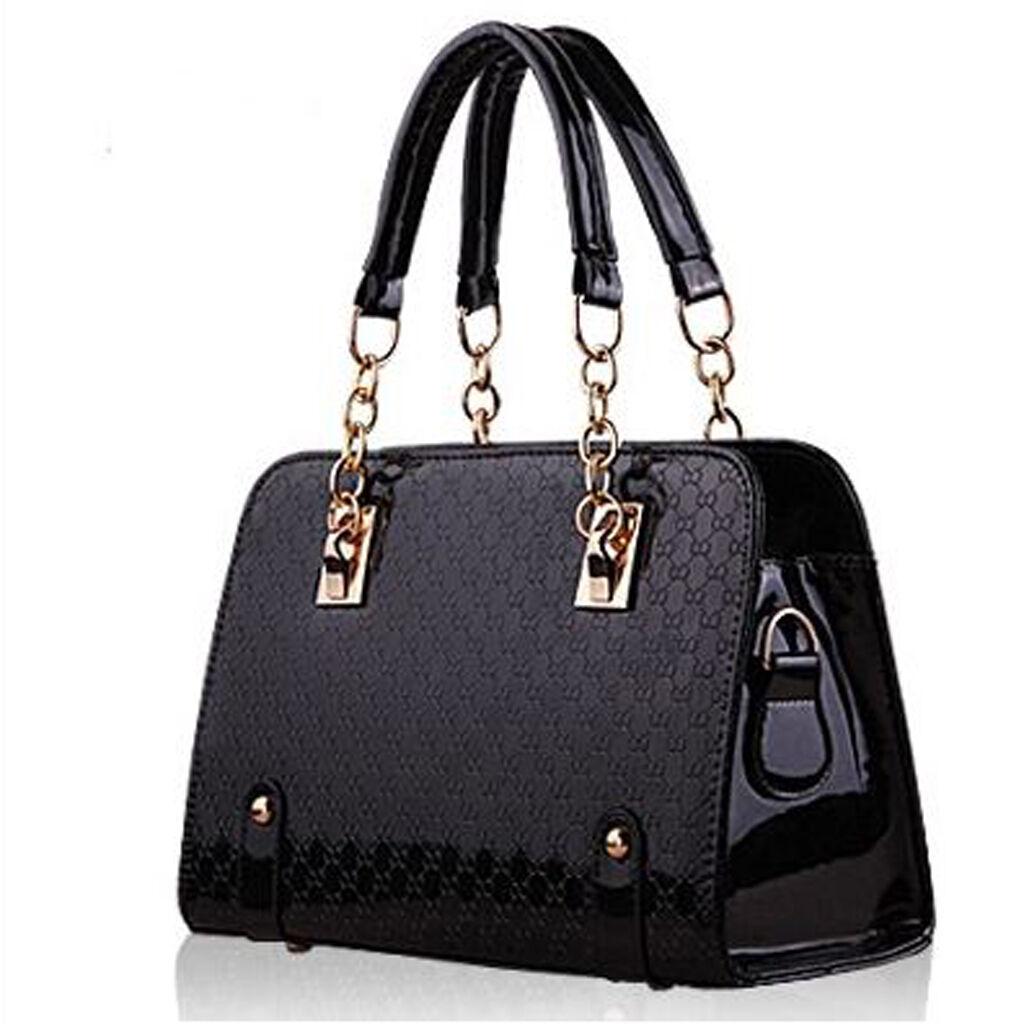 Womens Designer LargeFaux Leather Style SummerTote Shoulder Bag Handbag Vincenza