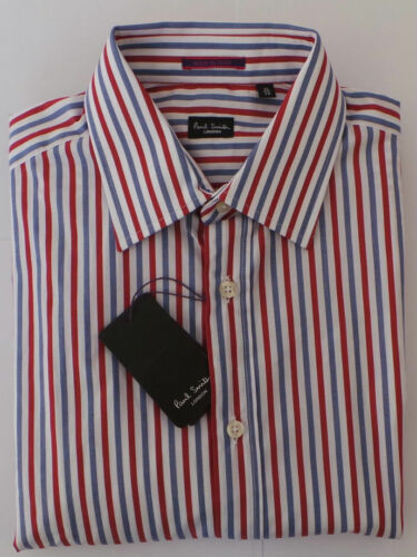 Blue 5 Smith Range London Extra Shirt 16 Large Red Paul Size Stripes RTqCxIq8