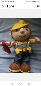 Bob-The-Builder-Big-INTERACTIVE-Fish-Little-Giocattolo-Peluche-Fish-CANTANDO-35cm-in-piedi