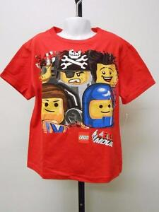 NEW LEGO MOVIE KIDS Sizes 4-5//6  T-SHIRT