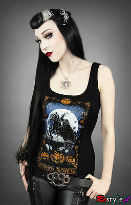 Restyle Tank Top Headless Horseman Steampunk Horror Sleepy Hollow Gothic RT18