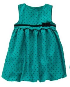 Christmas Green Dress.Details About Nwt Gymboree Emerald Party Dress Holiday Christmas Green Baby Girls 3 6 M