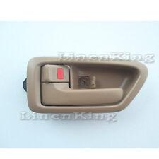 Inside Door Handle Front or Rear Left Side Bezel Tan 97-01 Toyota Camry DHE153