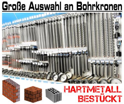 SDS-max HM Bohrkrone Ø 80mm x 500mm Dosenbohrer Kernbohrer Hartmetall Lochsäge