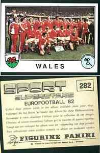 Galles-TEAM-Rugby-SPORT-SUPERSTARS-EUROFOOTBALL-82-n-282-ed-PANINI-NUOVO