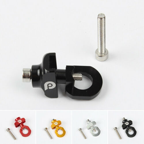 Bicycle Chain Adjuster Tensioner Alloy Fastener Bolt For 14/'/'single Speed Bike