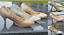 NEW-LADIES-SPARKLY-GLITTER-LOW-HEEL-COURT-FULL-TOE-SHOES-PUMPS-PARTY-PROM-3-8 thumbnail 1