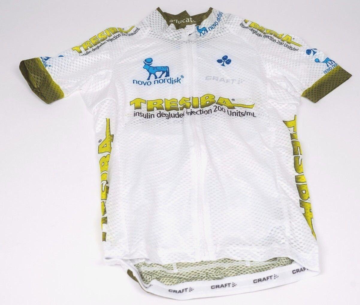 New herrar Craft Team Novo Nordisk Tresiba EBC Superlight SS Cycling Jersey, S