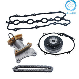 5Pcs-Cam-Timing-Adjuster-Chain-Tensioner-Gasket-Kit-For-VW-Passat-GTI-2-0T-Audi