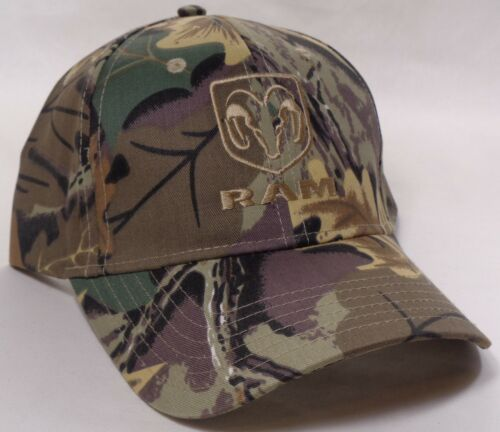 Hat Cap Licensed Dodge Ram Truck Camo Camouflage All Twill HR 230