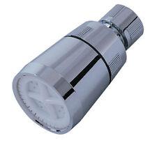 "Ez-Flo 15035 Shower Head 2"" Face Metal Ball Joint - 2.5 GPM Chrome"