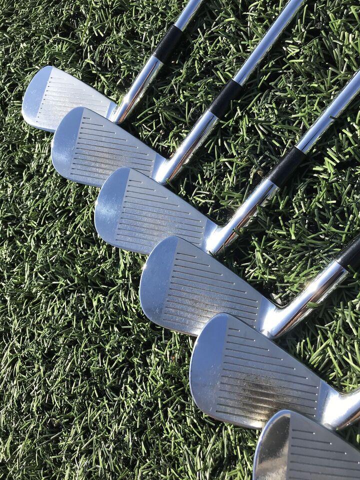 Stål golfjern, Mizuno MP-63 3-P jernsæt, S-flex stålskaft