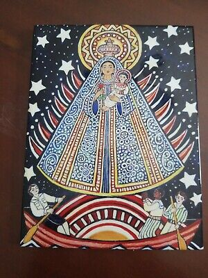 Artist Margarita Cano Our Lady Of Charity Ceramic Tile