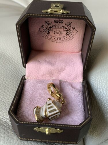 Juicy Couture Rare 2008 Pink Knight Helmet Charm Y